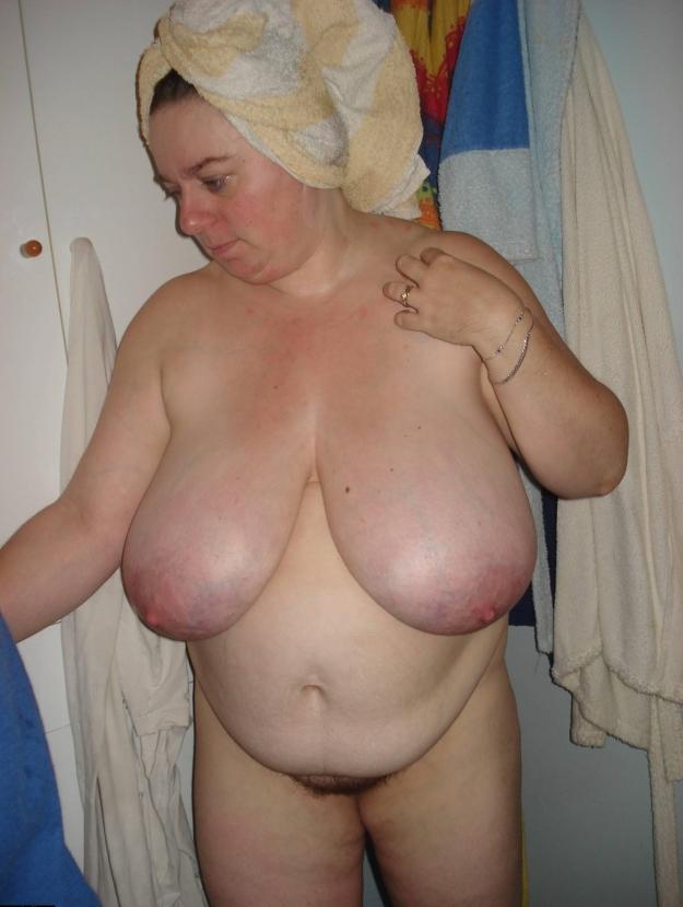 Busty fat granny
