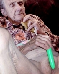 I love granny old pics of hairy pussies
