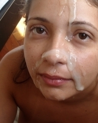 200 All New Amateur Homemade Facials Pic Set