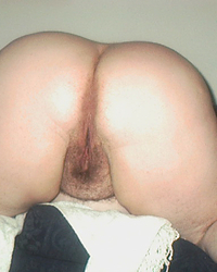 My BBW Wife's Hairy Cunt & Ass