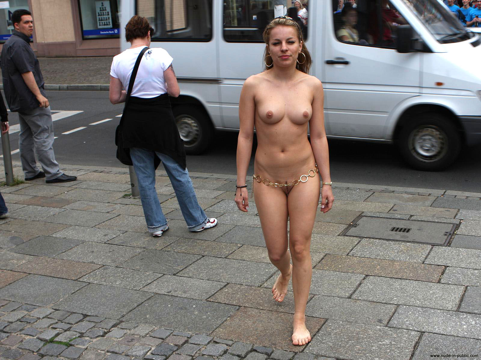 Naked and apparently unafraid in san francisco