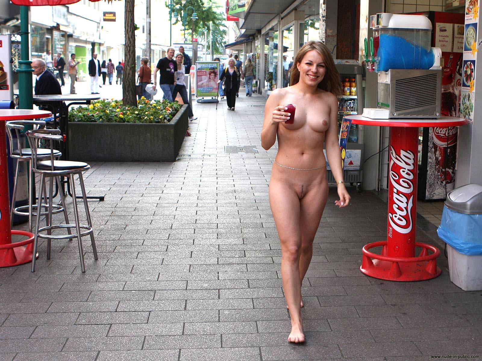Nude Man With A Big Semi Hard Cock