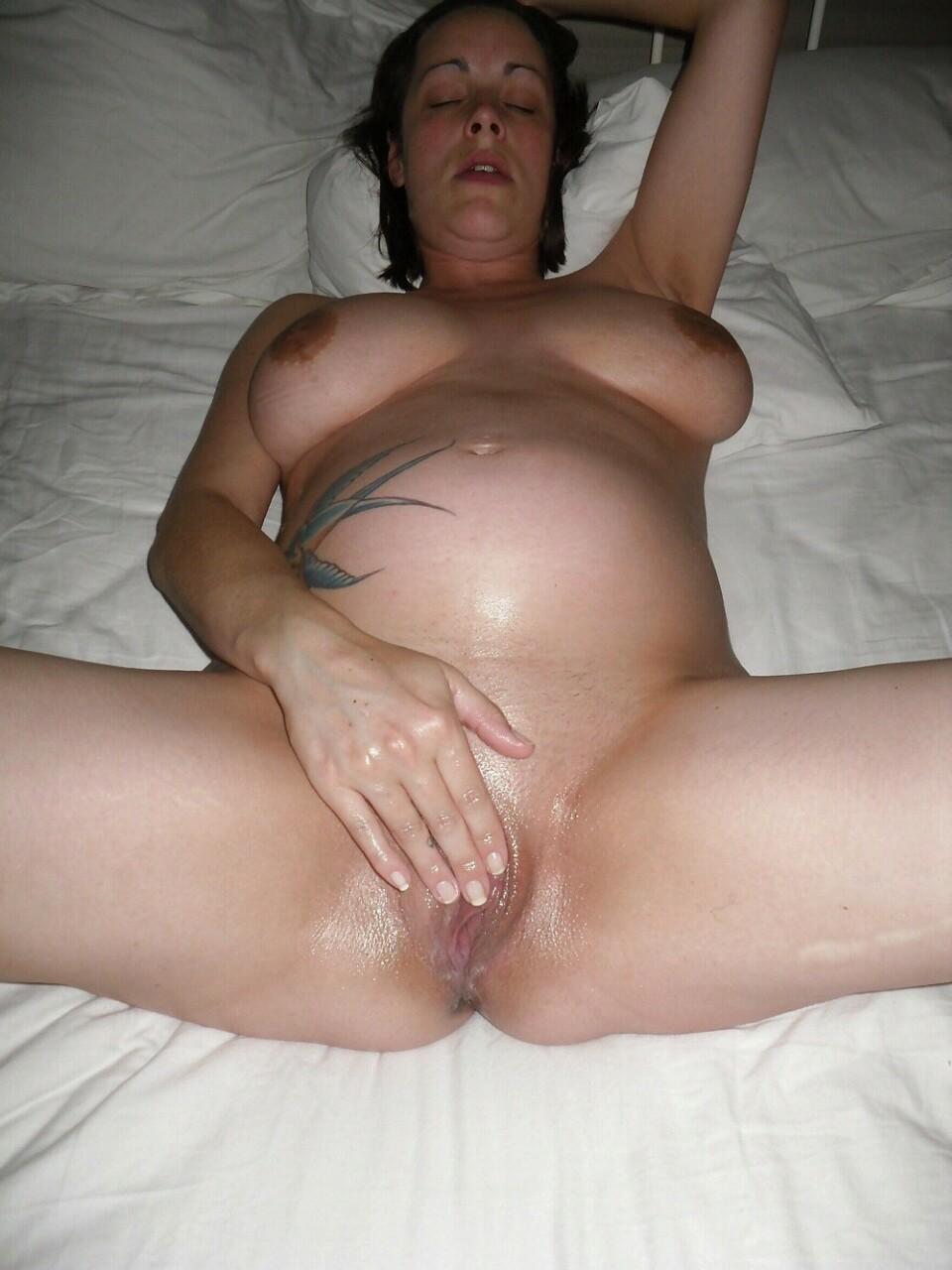 Amateur milf pregnant dripping