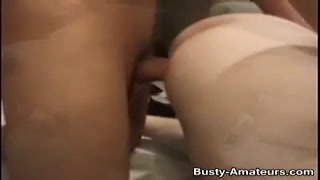 huge-titted mummy  Samantha getting plowed in different posiition