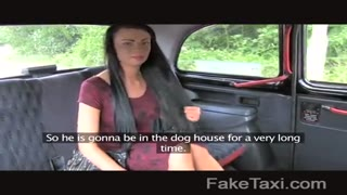 FakeTaxi - Petite woman gets a creampie