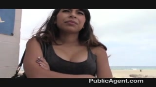 PublicAgent - latina honey  gets pulverized by BBC