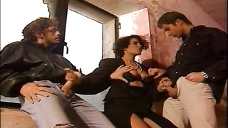Dalila - Marocan milf pounded by 2 poor Boys