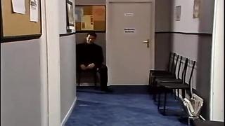 German Secretary plowed in Office