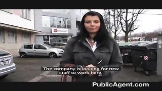 PublicAgent - molten brunette milf brilliant bra-stuffers