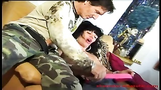 xxx  bisexual  three-way with hot milf and two  guys - one of 2
