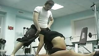 Russian man pulverizes a Gymnast