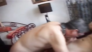 dame and slave Bi-Fuckparty