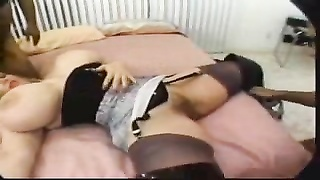 Chessie Moore 3 way With old boners