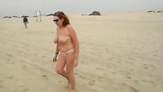 A hasten on the beach of Maspalomas