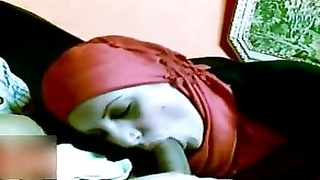 Egypt hijab deep-throat stiffy