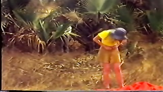 7381Nude Beach - Vintage African BBC without a condom