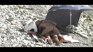 Voyeur on public beach hookup