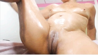 latina mummy  originate cootchie broad and squirt and plow PART1