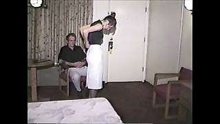 old spanking clips four