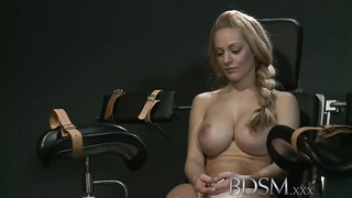 BDSM XXX First timer slave girls learn things the hardcore w