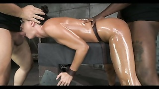 10227obliging Brunette mummy  restrain bondage  Treatment
