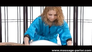 Mae Olsen loves to massage prick
