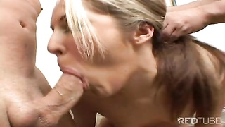 12143small titted sandwich gets juices to drink