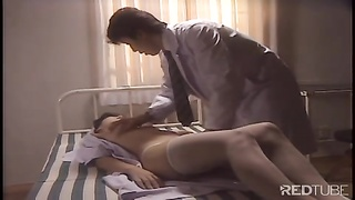 Japanese nurse on fire
