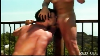 clear views and very steaming blond damsel to plow