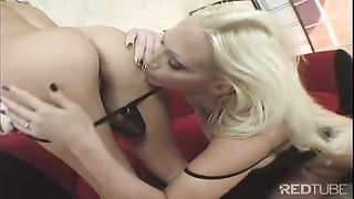 12321two babes milking 1 stick