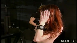 Fetish redhead stunner likes to be dominated