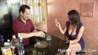 Persia Monir - large melons Brunette receive nail And