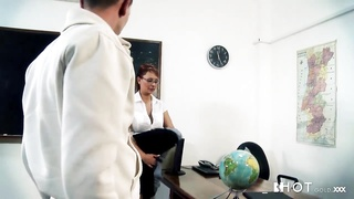 Hotgold super hot busty mummy  Teacher goes naughty with