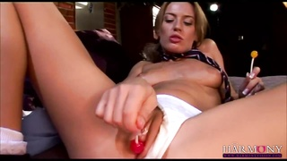 HarmonyFilms yellow-haired gets a tough dp