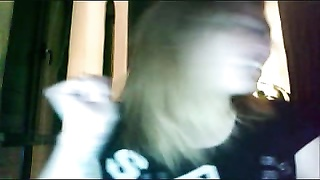 steaming spanish blondy teasing on cam - by GranDBastard