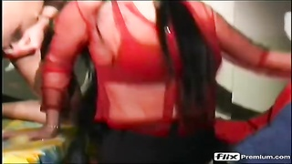 obscene enema humdrum pissing and fisting(wet crimson  stocking)