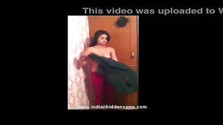fantastic indian doll  in shower in front of her hubby leaked mms