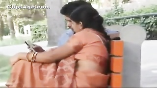 Desi man liking  his bhabhi in Divi park MMS movie  leaked
