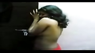 withdrawn stunning huge-boobed  indian aunty filmed and exposed by hubby