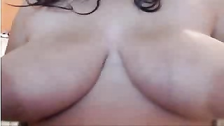 Webcams 2014 - big Lactating Colombian melons share 1