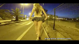No panties in the street