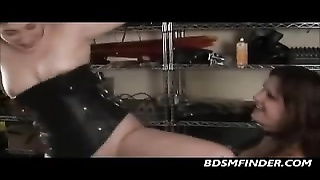 lezzie Femdom Whips And dildos