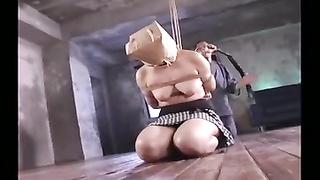 flagellating  & Strangling A Japanese M