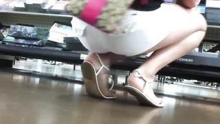 impartial cool teenage  Feet & legs at WalMart