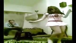 Arab teenage  dance