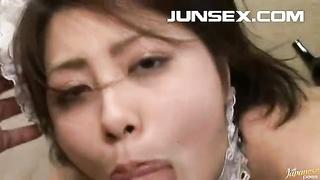 Rei Minami naughty chinese Maid