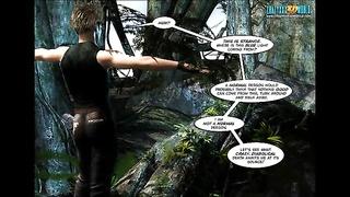 3D Comic: Legacy. episode 7