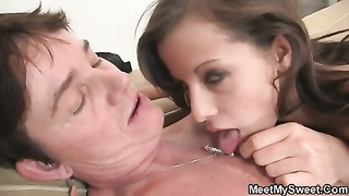 naughty time with son's girl