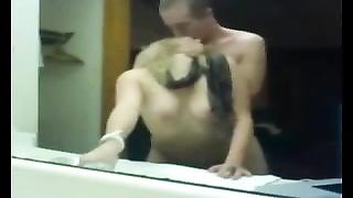 mirror screw #12 (American Teenage blondy & her Swedish BF)