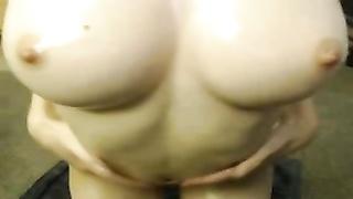 Kiwi lubricates her perfect figure
